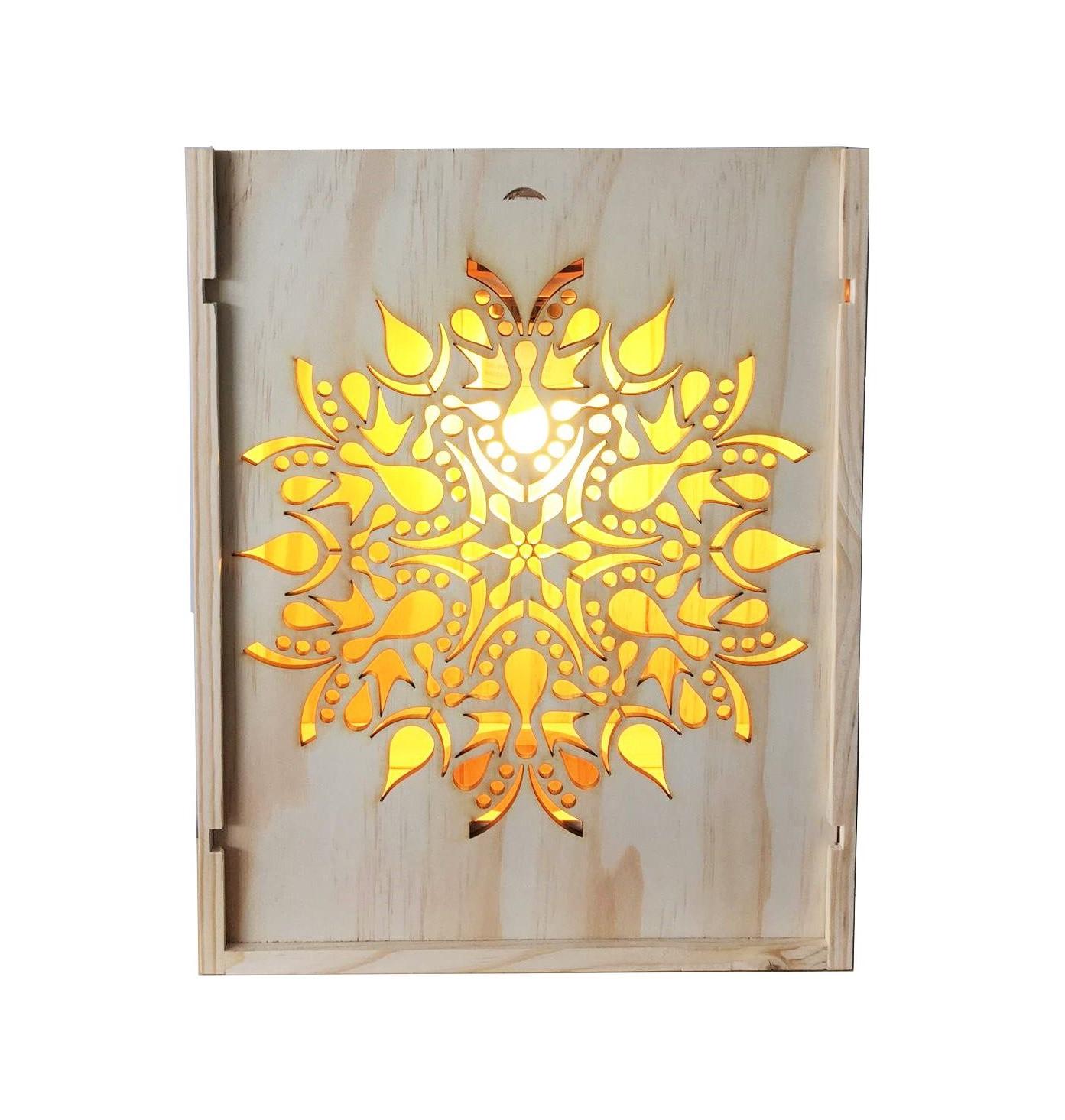 Lampe Design En Bois Le Zen De L Ecrin Du Vin