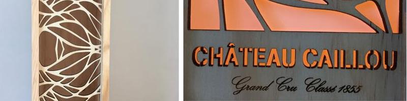 Coffrets personnalisés pour Château Caillou, grand cru classé Sauternes