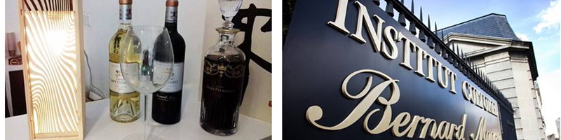 L'Ecrin du vin à l'Institut Culturel Bernard Magrez Bordeaux