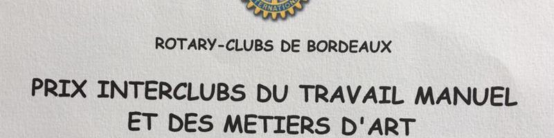 Prix Rotary Club du Travail Manuel et des Métiers d'Art