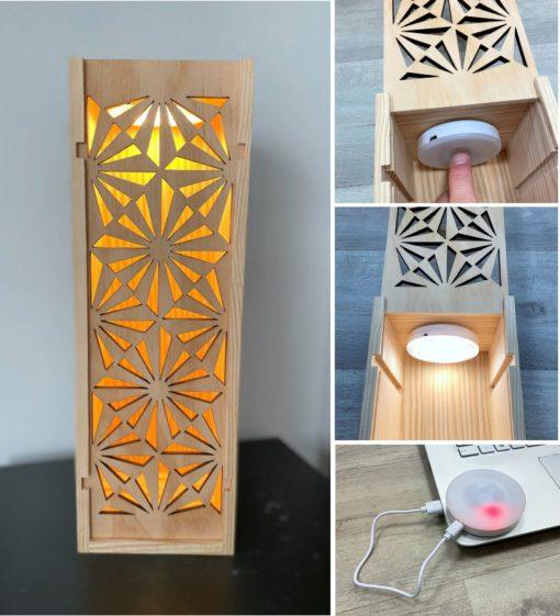 Coffret vin lampe led rechargeable usb L'ECrin du Vin 18.09.20
